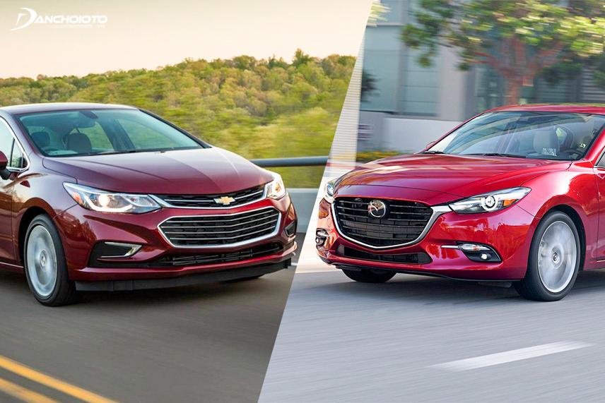 Chevrolet Cruze và Mazda 3