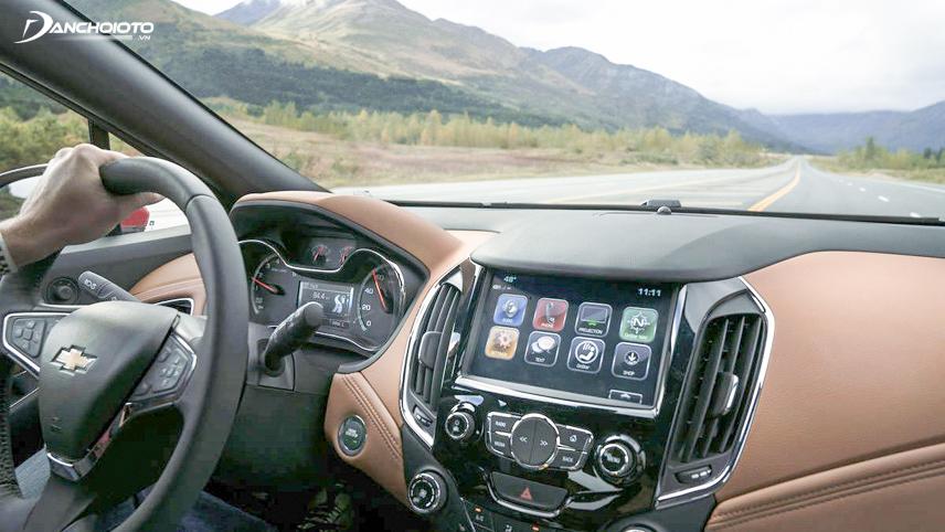 Hệ thống giải trí của Chevrolet Cruze LT