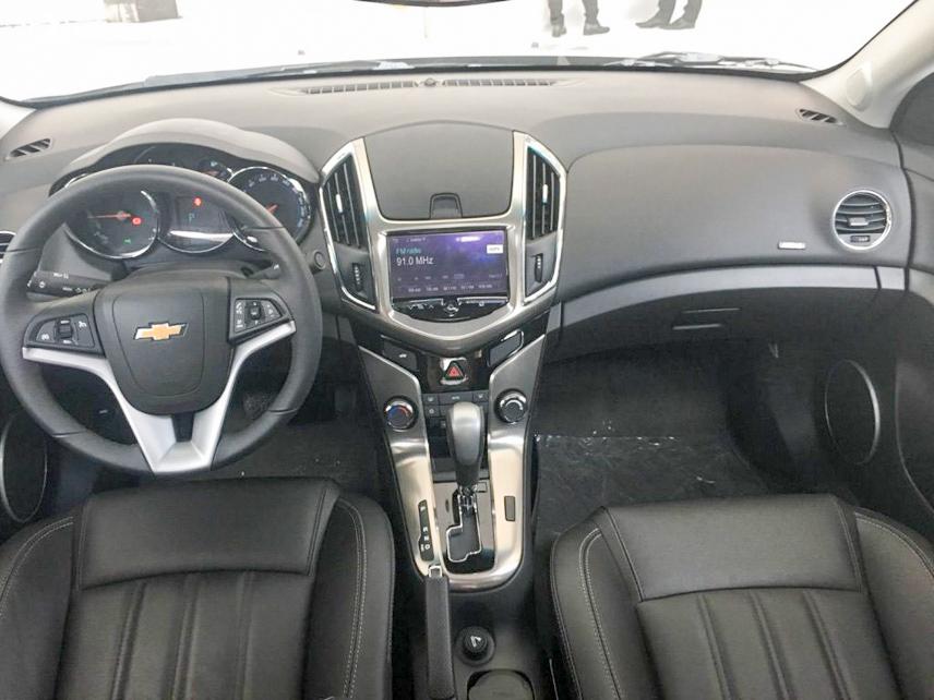 Không gian nội thất của Chevrolet Cruze
