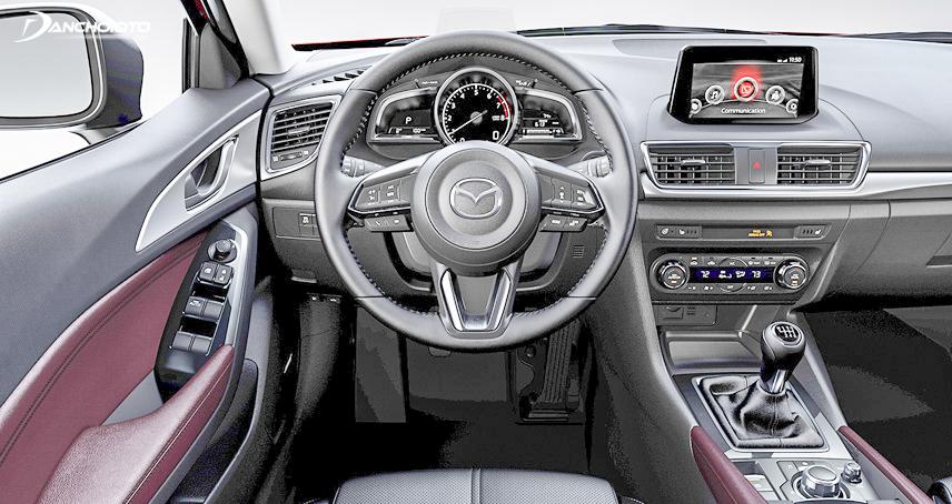 Mazda 3 được trang bị hệ thống tiện nghi hiện đại