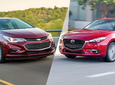 Nên mua xe Chevrolet Cruze hay Mazda 3?