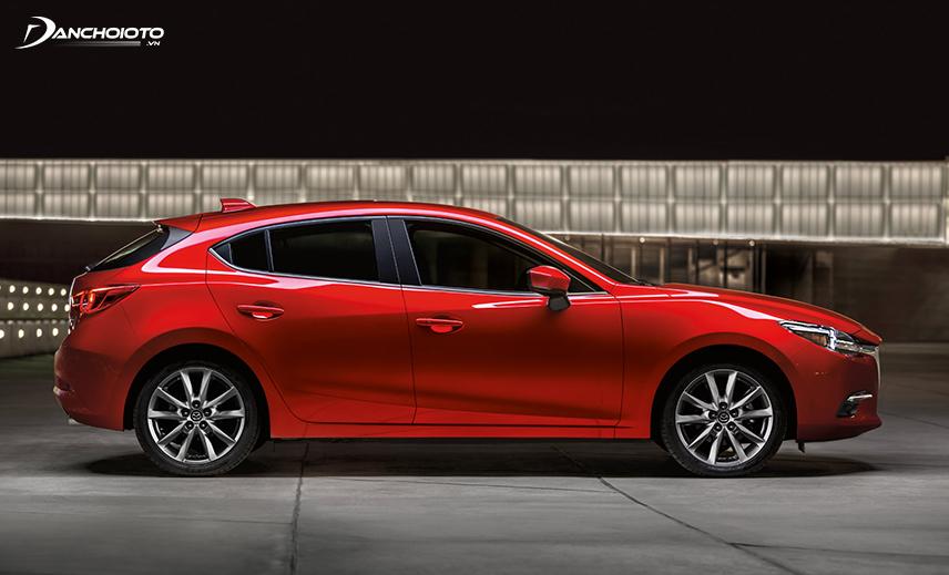 Mazda 3 hatchback được đánh giá là nhỏ gọn và tiện dụng