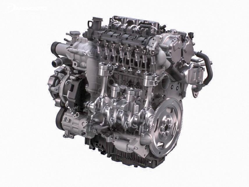 Động cơ Skyactiv-X Mazda đã được kiểm nghiệm thành công