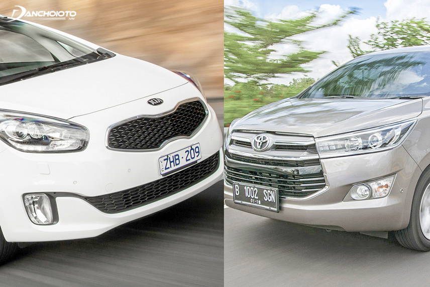 Kia Rondo 2016 và Toyota Innova 2016