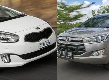 Mua xe 7 chỗ cũ tầm 500 triệu: Chọn Kia Rondo 2016 hay Toyota Innova 2016?