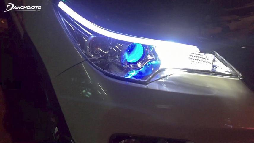 Hệ thống đèn xe rất dễ hỏng