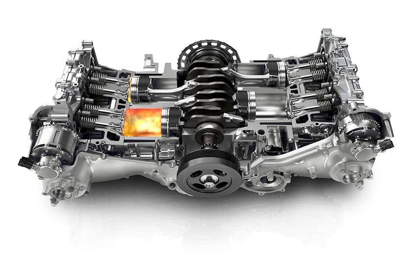Cơ chế hoạt động của động cơ Boxer