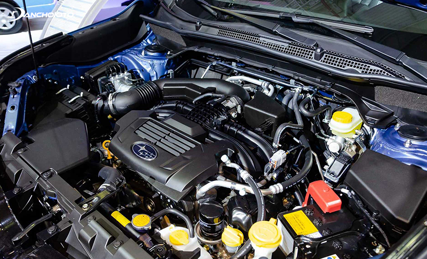 Mẫu xe Subaru có sử dụng động cơ Boxer