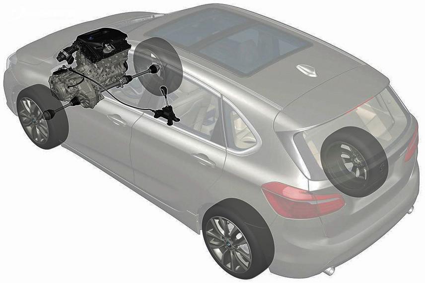 Hệ truyền động xe ô tô