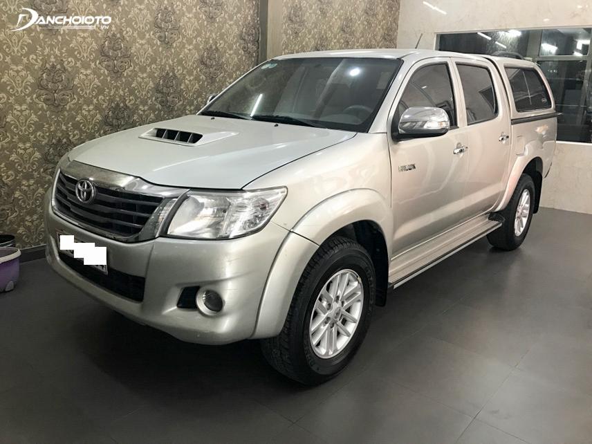 Mẫu xe bán tải Toyota Hilux