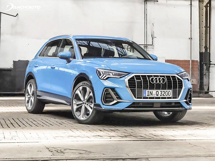 Audi Q3 có thiết kế nhẹ nhàng và thanh lịch hơn