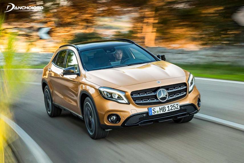Mercedes-Benz GLA có hiệu suất động cơ khá tốt