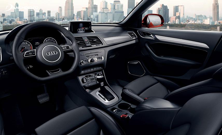 Audi Q3 có không gian nội thất sang trọng tiện nghi