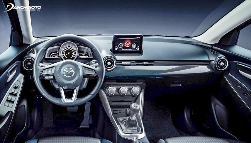 Hệ thống giải trí trên Mazda 2 2018