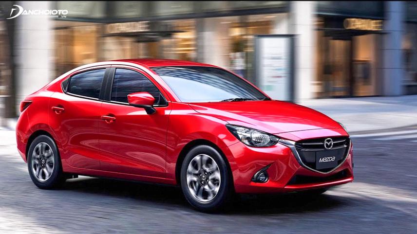 Mazda 2 2018 có thiết kế ngoại thất đẹp mắt