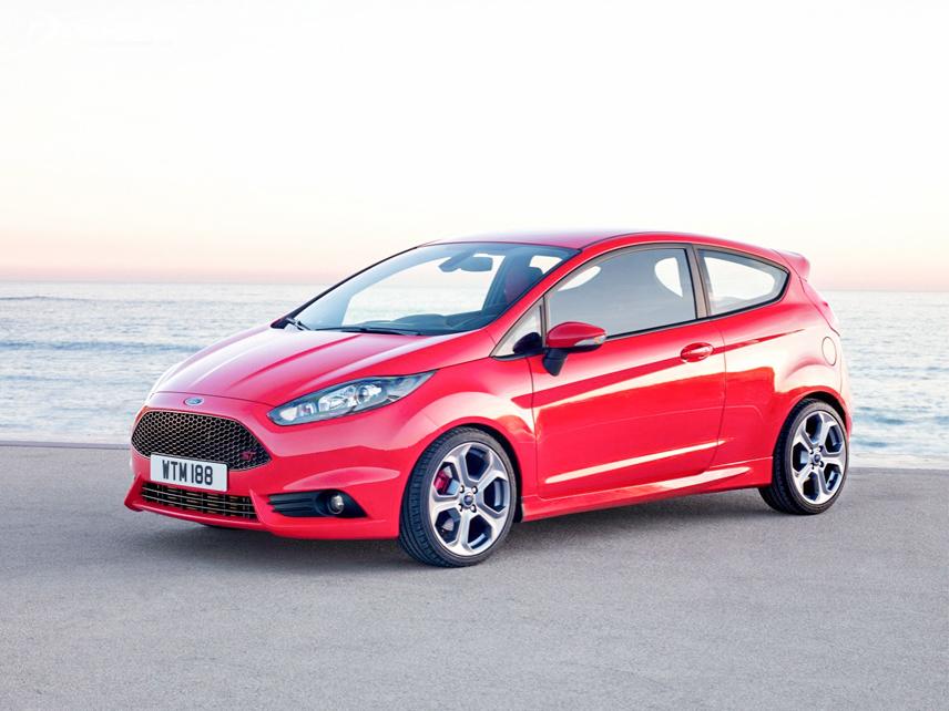 Thiết kế thân xe mang tính khí động học cao trên Ford Fiesta 2018