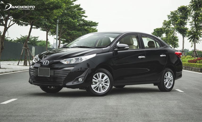 Nếu mua xe oto 400 triệu, bạn có thể chọn Toyota Vios bản thấp nhất 1.5E MT
