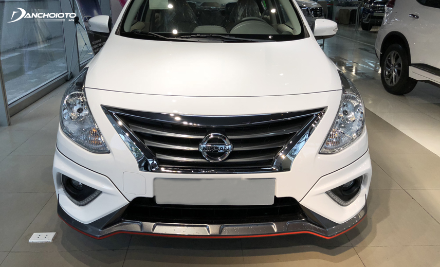 Nissan Sunny là một trong các số ít xe hạng B có nhiều phiên bản trong phân khúc xe giá 400 triệu