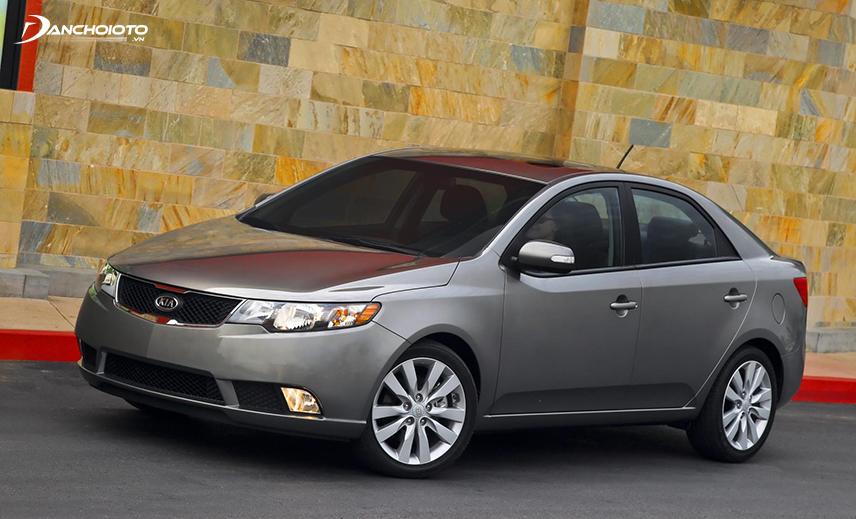 Kia Forte là một trong những xe Kia giá 300 triệu được rao bán khá phổ biến
