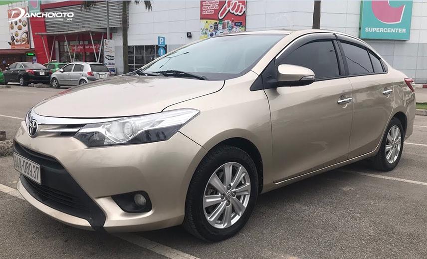 Mua xe Vios cũ giá 300 triệu, bạn có thể mua được đời Toyota Vios 2013 – 2014