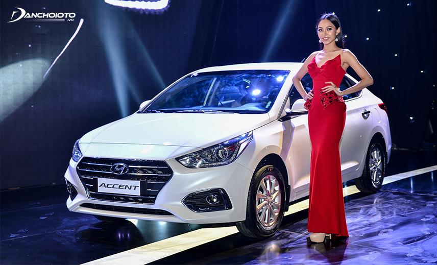 Hyundai Accent 2019 là một trong các mẫu xe tầm 500 - 600 triệu đáng mua nhất