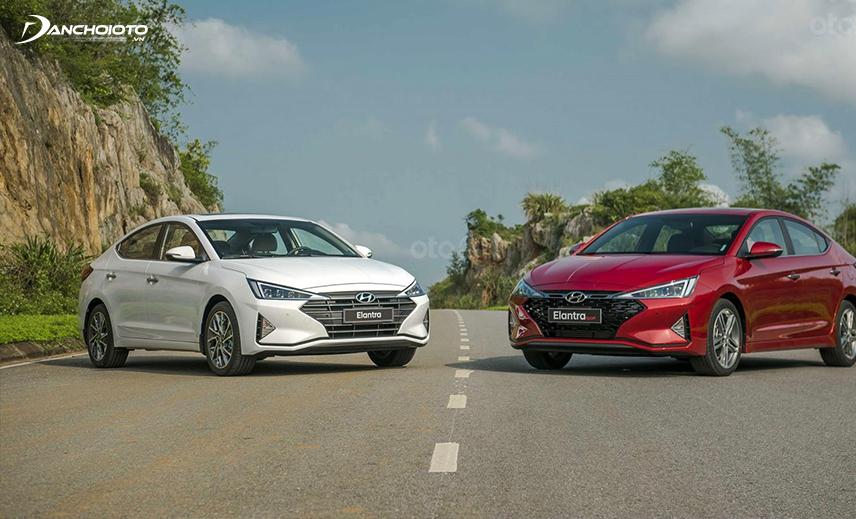 Hyundai Elantra 2019 được thiết kế theo phong cách sang trọng, thanh lịch