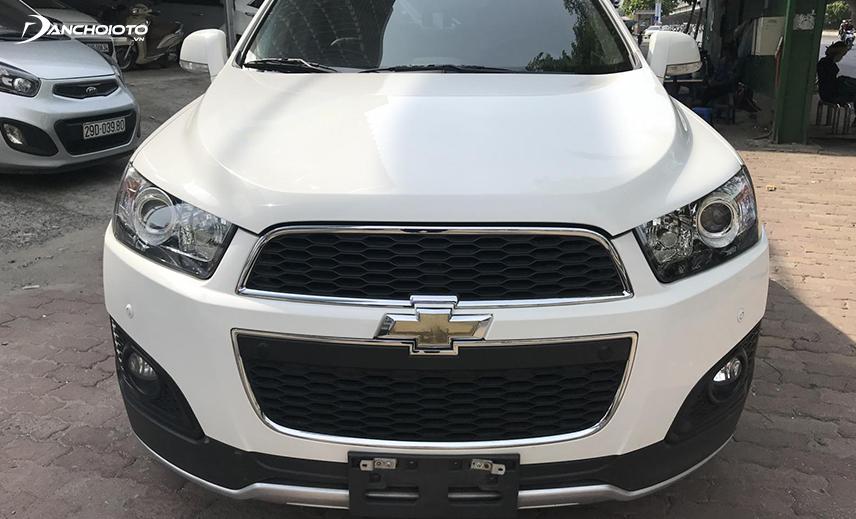 Chevrolet Captiva cũ 2014 - 2015 là mẫu xe crossover 7 chỗ giá 500 triệu có ưu điểm về khả năng vận hành