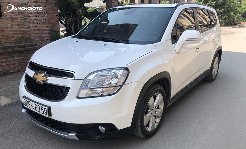 Mẫu xe 7 chỗ giá 500 triệu Chevrolet Orlando 2016 - 2017 cũ có thiết kế khá thô