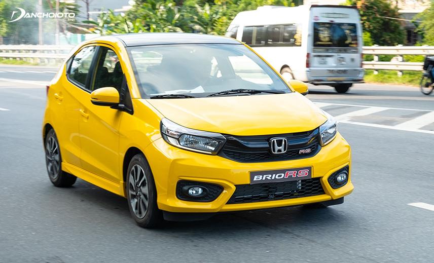 Honda Brio có giá bán khá cao trong phân khúc xe oto mới giá 400 triệu