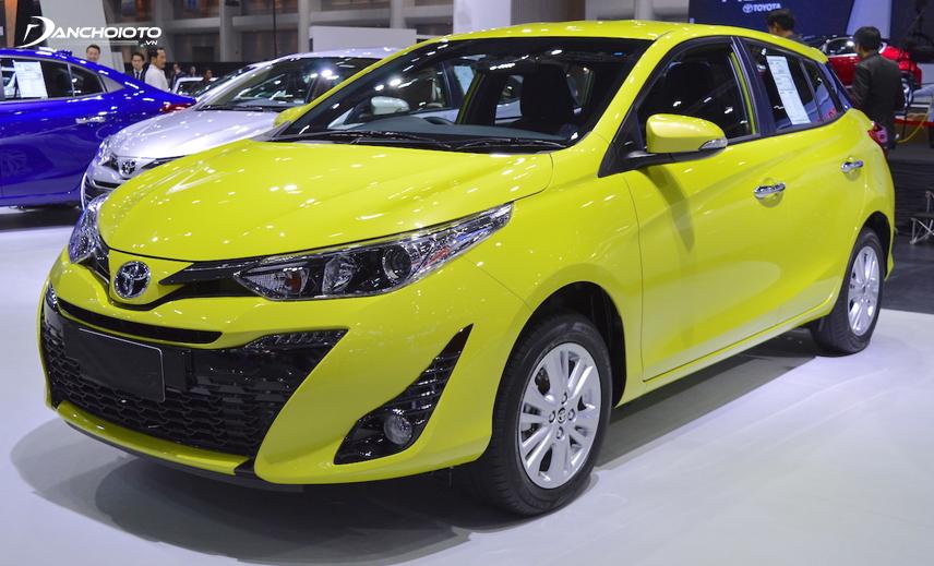 Cùng giá bán khoảng 600 triệu nhưng Toyota Yaris 2019 khá thua Honda Jazz về trang bị