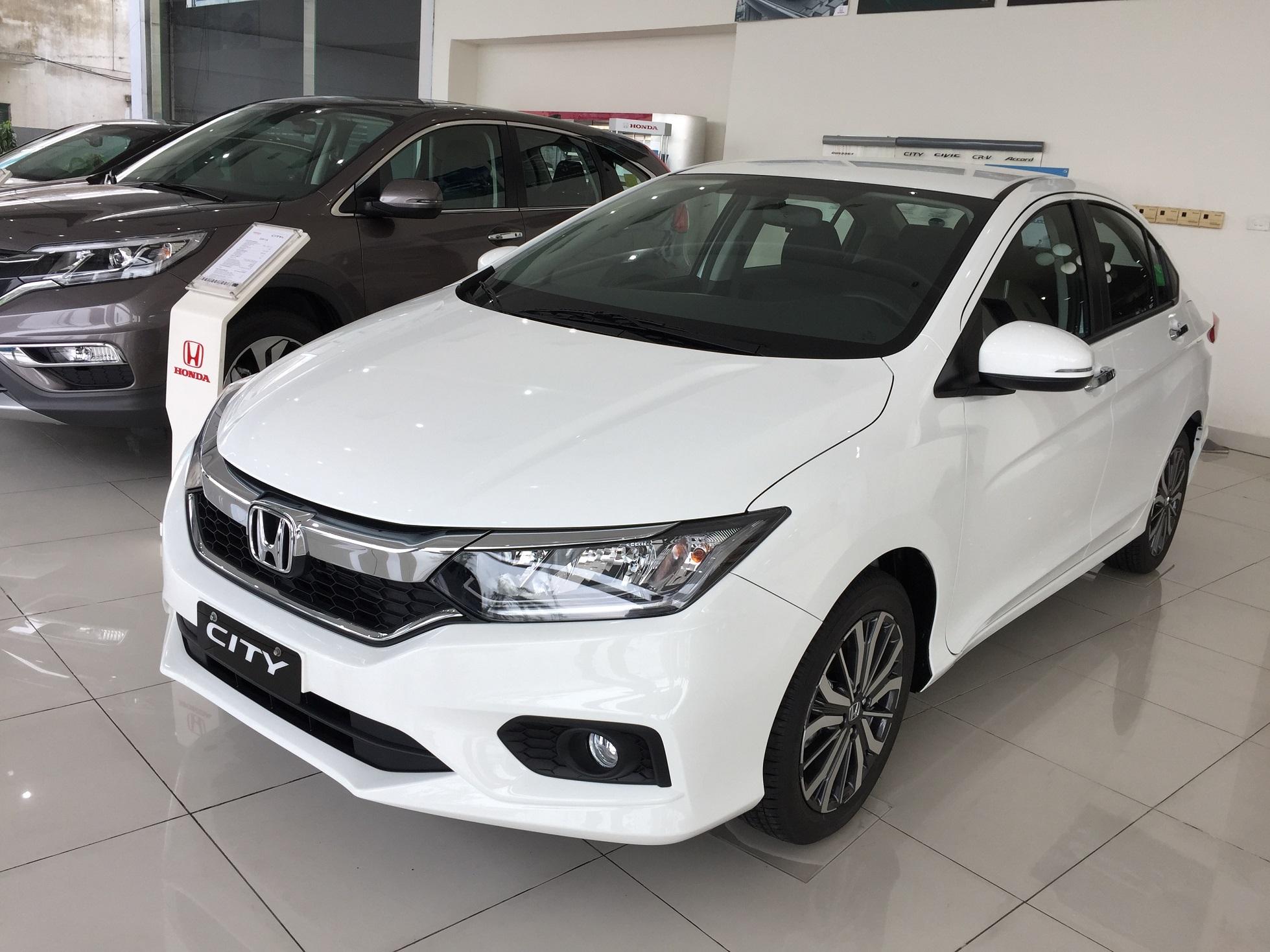 Honda City TOP 2019 là mẫu xe sedan hạng B duy nhất lọt vào nhóm xe 5 chỗ tầm 600 triệu mới