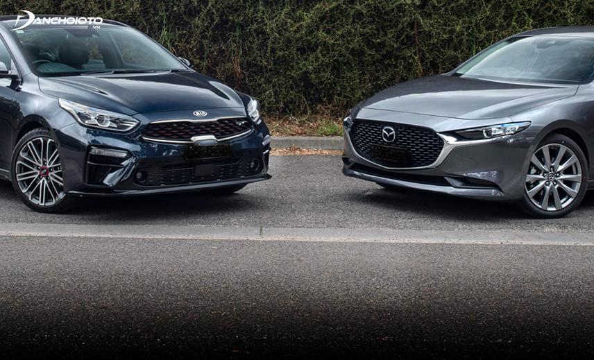 Mua xe 5 chỗ tầm 600 triệu, cả Kia Cerato 2019 và Mazda 3 2019 đều là lựa chọn hấp dẫn
