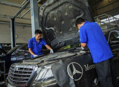 """Kinh nghiệm """"cắt giảm"""" chi phí bảo dưỡng xe Mercedes-Benz"""