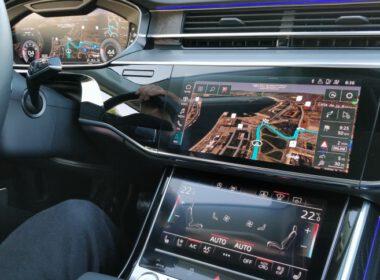 công nghệ định vị xe audi a8 mới