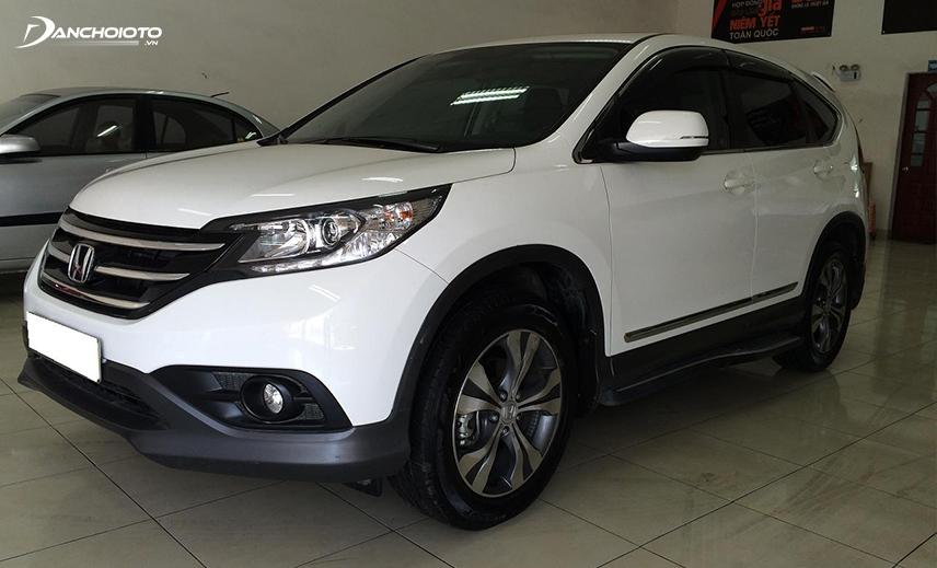 Ngoại trừ đời xe hơi cũ thì Honda CR-V 2013 cũ là một lựa chọn đáng giá trong tầm tiền 600 triệu