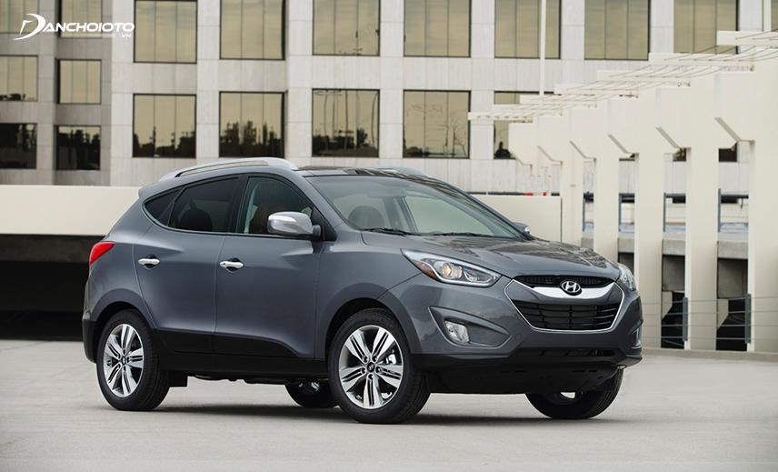 Trong tầm giá 600 triệu, Hyundai Tucson 2013 - 2014 cũ có phiên bản 2.4L cho hiệu suất khá vượt trội
