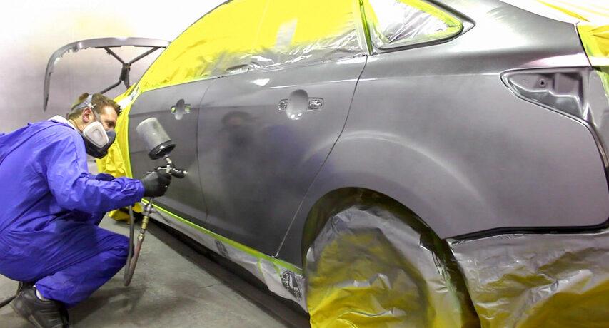 Những điều quan trọng cần biết trước khi sơn lại xe ô tô