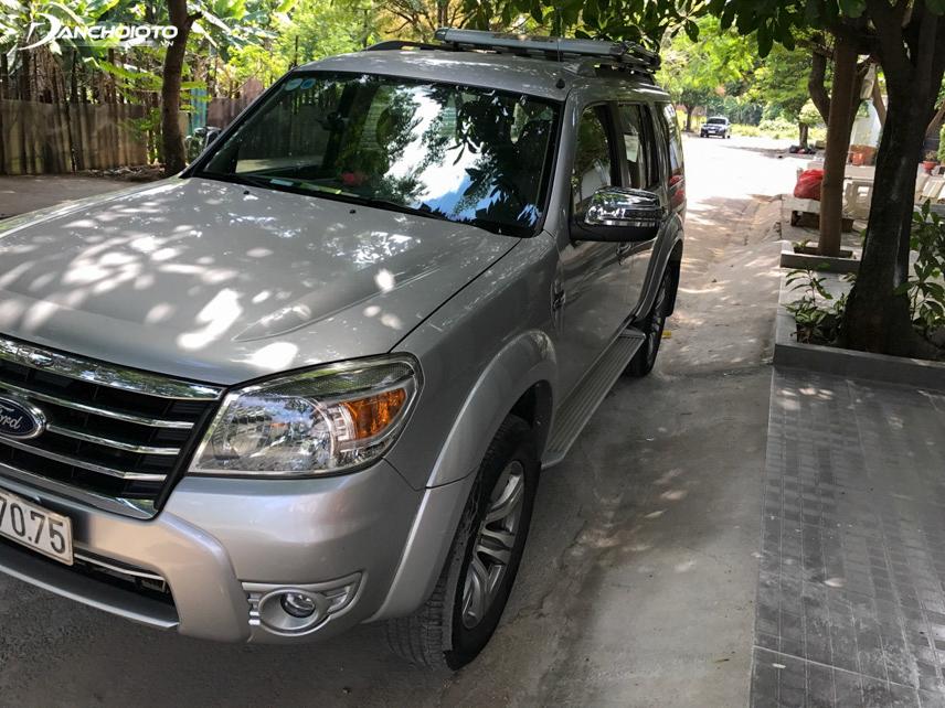 Ford Everest 2011 mang nét đẹp trẻ trung, khỏe khoắn và thể thao