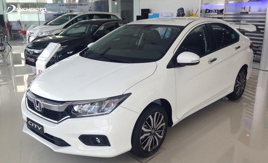 Honda City giữ vị trí á quân phân khúc sedan hạng B