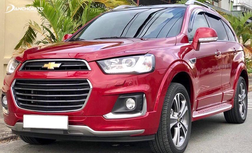 Nếu muốn mua xe 7 chỗ cũ khoảng giá 700 triệu còn mới thì Chevrolet Captiva đời 2017 - 2018 rất đáng cân nhắc
