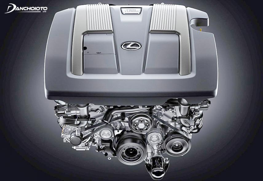 Động cơ tăng áp trên xe Lexus LS 500