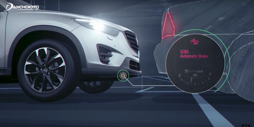 Mazda CX-5 được trang bị hệ thống phanh khẩn cấp