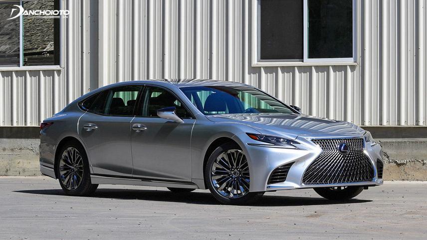 Mẫu xe Lexus LS 500 mang lại đẳng cấp cho người sở hữu
