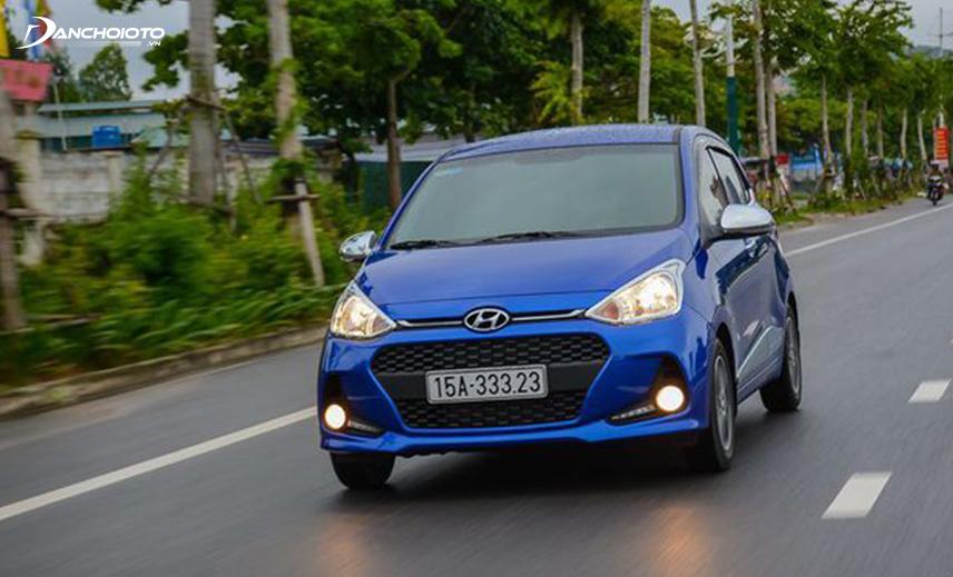 Động cơ Hyundai i10 đáp ứng khá tốt sức mạnh cần thiết ở đường trường