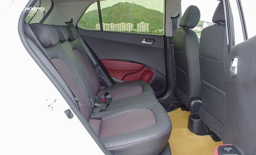 Hàng ghế sau Hyundai i10 2014 - 2019