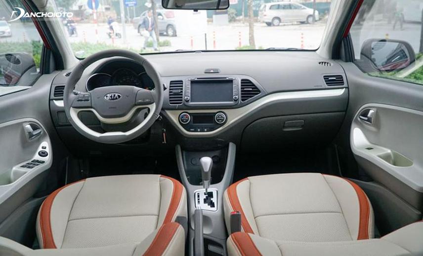 Thiết kế taplo xe Kia Morning 2012 - 2019