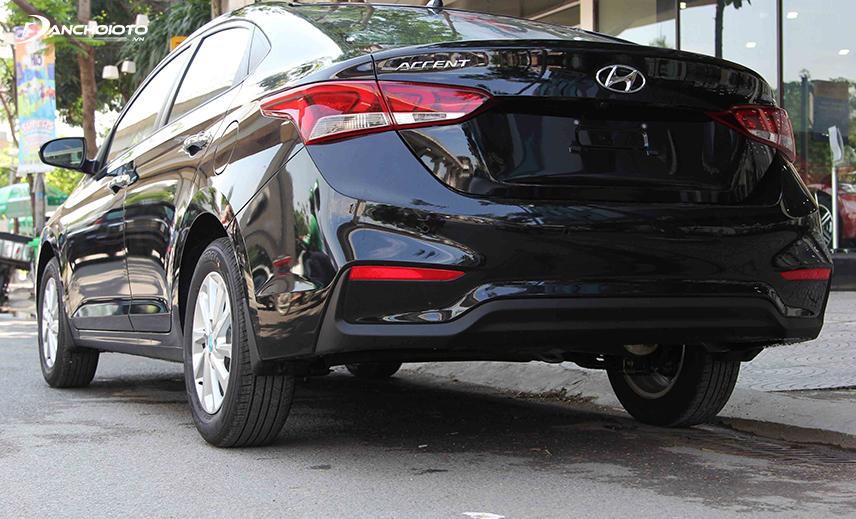 Đuôi xe Hyundai Accent 2018 - 2019