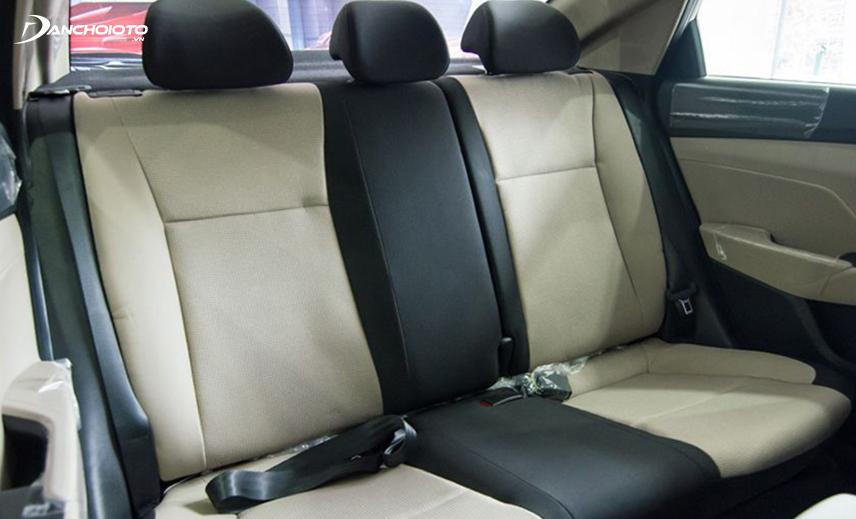 Hàng ghế sau Hyundai Accent 2018 - 2019