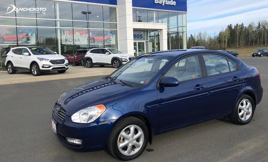 Hyundai Accent 2009 có thiết kế hiện đại hơn thế hệ cũ