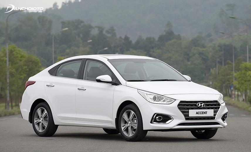 Hyundai Accent là một mẫu xe sedan hạng B đến từ thương hiệu Hyundai